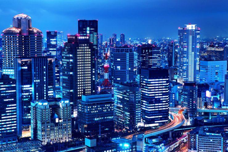 大阪の夜景